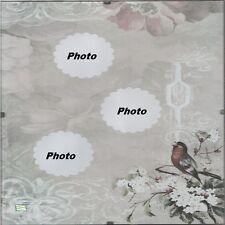 1 cadre sous verre les oiseaux vintage pour photos à accrocher