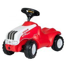 Rolly Toys Steyr CTV 150 gioco auto cavalcabile con ripiano sotto il cofano rosso