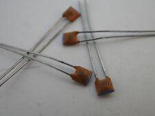 20x mini in ceramica canalizzatore/Vetri-condensatori 100 PF, NOS