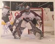 PATRICK ROY SIGNED 11X14 PHOTO COLORADO AVALANCHE JSA