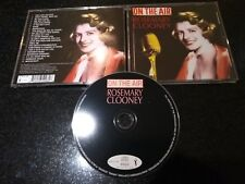 """ROSEMARY CLOONEY """"ON THE AIR"""" CD (1950s RADIO BROADCASTS)"""