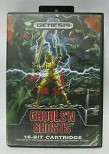Ghouls 'n Ghosts (Sega Genesis, 1989) Cartridge & Box Only