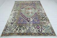 """Vintage Rug Anatolia Carpet Area Rugs Modern  Rug Floor Rug 69,6""""X103,5 Wool Rug"""