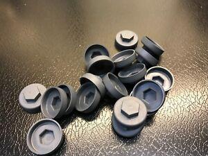 HEX Head 16mm Tech screw caps, box profile coloured caps, tek caps.