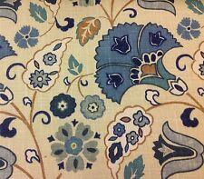 Fabricut Ethnic Floral Flax Upholstery Fabric- Frasier/Horizon 10 yds (3839001)