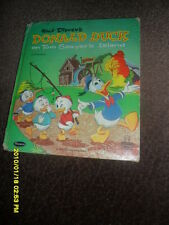 1960 WALT DISNEY'S DONALD DUCK ON TOM SAWYERS ISLAND CARTOON TELL A TALE BOOK