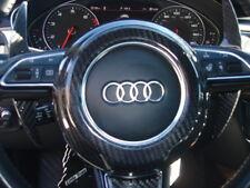 Audi TT TTS TT RS Late Models 08-17 Carbon Fiber Steering Wheel Center Cover