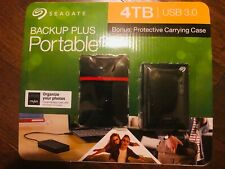 Seagate - Backup Plus 4TB External  Portable Hard Drive with Carrying Case