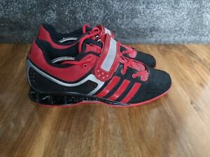 adidas AdiPower mens Weightlifting Shoes, size 10 UK RARE M21865