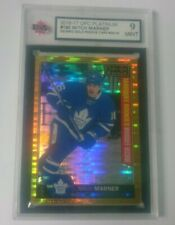 2016-17 OPC Platinum Seismic Gold /50 Mitch Marner RC **RARE** Graded 9 MINT