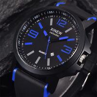 Army Men's Stainless Steel Luxury Sport Date Watched Analog Quartz Wrist Watch