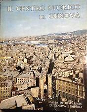 IL CENTRO STORICO DI GENOVA - E.Mazzino, T.O De Negri, L.Von Matt - STRINGA 1968