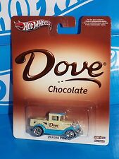 Hot Wheels Pop Culture Series Dove Chocolate '29 Ford Pick-up w/ Real Riders