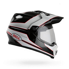 BELL Casco offroad pantalla MX-9 ADVENTURE MIPS EQUIPPED STRYKER (55/56) S NEGRO