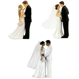 Wedding Cake Topper Bride and Groom Figurines Decorations Supplies