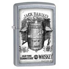 Zippo 2692 Jack Daniels Tennessee Whiskey Street Chrome Full Size Lighter