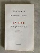 Les Reposoirs de la Procession. I. La Rose et les Epines du Chemin. SAINT-POL-RO