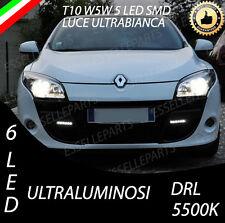 2x LED Illuminazione Targa Renault Megane III 3 bz0 POSTERIORE ACCIAIO PER CVT 2.0//n06