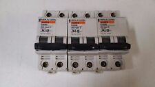 Merlin Gerin Marine C60N circuit breakers (curve C, D) Lot of 3