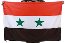 NEW BATCH FLAG OF SYRIA - NATIONAL BIG FLAG BANNER SYRIA BASHAR ASAD
