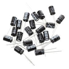 SODIAL(R)20 x 330uF 25V 105C Radial condensateur electrolytique 8x12mm X3V3