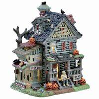 Lemax Spooky Town CREEPY NEIGHBORHOOD HOUSE #75185 BNIB Lighted Building
