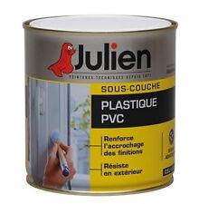 PEINTURE SOUS COUCHE PLASTIQUE PVC JULIEN PERMET ACCROCHE FINITION