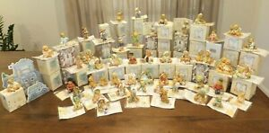 Cherished Teddie Lot of 50 With Boxes & Certificates