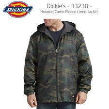 Dickies Hombre 33238 Camo con capucha cremallera chaqueta de lana forrada