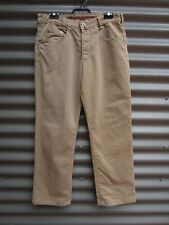 Joker Double Saddle Stitched Men's Fawn Jeans Size 33 30 Measured Waist 33