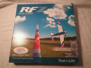Real Flight RF7 R/C Fligght Sim Transmitter Interface Edition (Software Only)