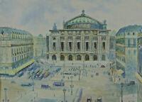 Monogrammiert rücks. bezeichnet Ernest Gaston Marche - Cafe de la Paix Paris ?