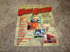 MARS ATTACK! 1996 Oscar ad Tom Jones, TIm Burton & THE WAR AT HOME Kathy Bates
