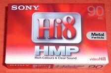 SONY VIDEO HI8 DIGITAL HMP 90 PAL BLANK CAMCORDER TAPE - BRAND NEW & SEALED