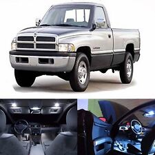 LED Lights Interior Package Kit For Dodge Ram 1994-2001 -11 Bulbs White