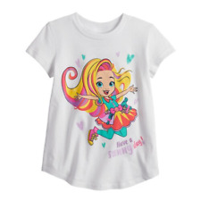 Toddler Girl Jumping Beans Sunny Day Graphic Tee, Size 4T, Retail $12.99