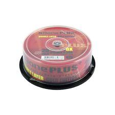 Paquete De 25 DVD + R DL Discos 8x velocidad 8.5 GB de doble capa con Archivística sobregrabado de juegos para Xbox