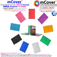"NEW mCover® Hard Shell Case for 2019 14"" Dell Inspiron 14 5481 2-in-1 laptop"