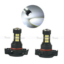 2x54 LED HID White H16 Car HeadLight Fog DRL Driving Light 6000K Bulb PS19W Lamp