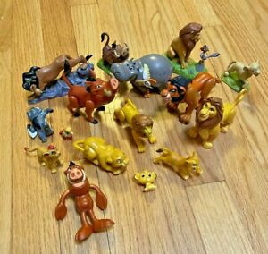 Lot Disney Lion King Guard Figures Toys PVC Scar Mufasa Pumbaa Cake Toppers