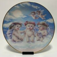 The Hamilton Collection by Kristin Dreamsicles Plate The Flying Lesson- Numbered