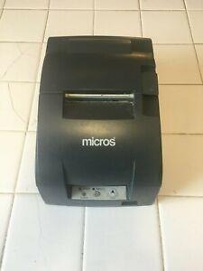 MICROS Epson TM-U220B POS Receipt Printer Ethernet M188B Printer Only Refurbed