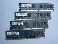 8GB RAM DDR2 Nanya (4 x 2GB Module ) NT2GT64U8HD0BY-AD PC2-6400 800Mhz ####