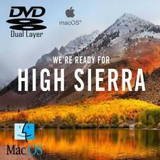 More details for apple mac os x 10.13 high sierra recovery repair reinstall dvd