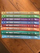 The 3 Three Stooges - Seasons 1,2,3,4,5,6,7,8 - DVD