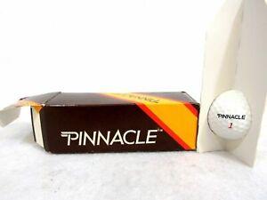 Sleeve of 1 Vintage Acushnet Pinnacle 1 Dimple Golf Ball 63-2