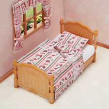 Sylvanian Families Calico Critters Furniture Floral Single Bed