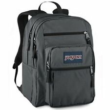 JANSPORT BIG STUDENT FORGE GREY BACKPACK  SCHOOL BOOK BAG 100% AUTHENTIC