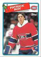 1988-89 Topps Patrick Roy Montreal Canadiens #116