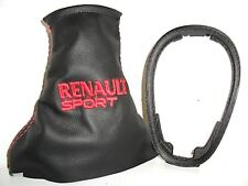 RENAULT CLIO MK2 Rs dCi  CUFFIA LEVA CAMBIO + CORNICE basetta PLASTICA